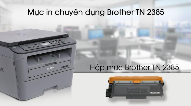Máy in Laser Brother HL-L2366DW Wifi - Mực in chính hãng