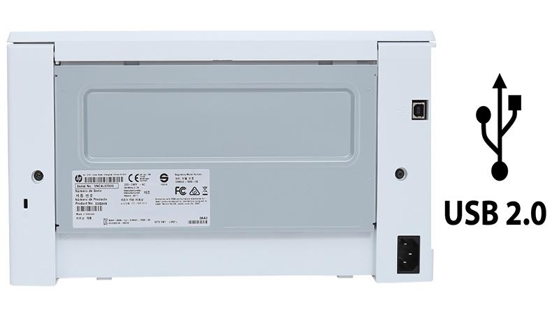 Máy in laser HP Pro M102a G3Q34A - Cổng USB 2.0 tốc độ cao