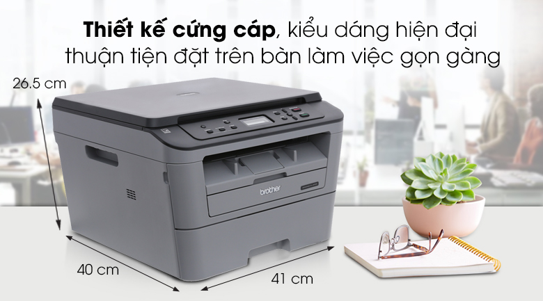 Máy in laser Brother DCP L2520D - Thiết kế đơn giản, mạnh mẽMáy in laser Brother DCP L2520D - Thiết kế đơn giản, mạnh mẽ