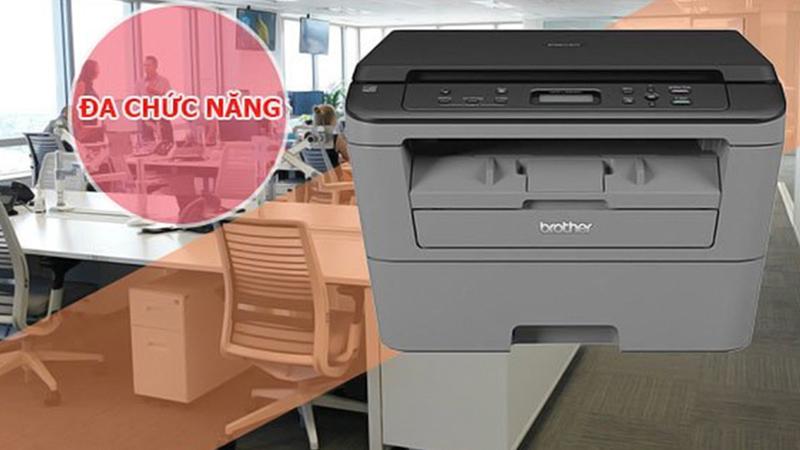 Máy in laser Brother DCP L2520D đa chức năng - Đa tính năng dành cho doanh nghiệp