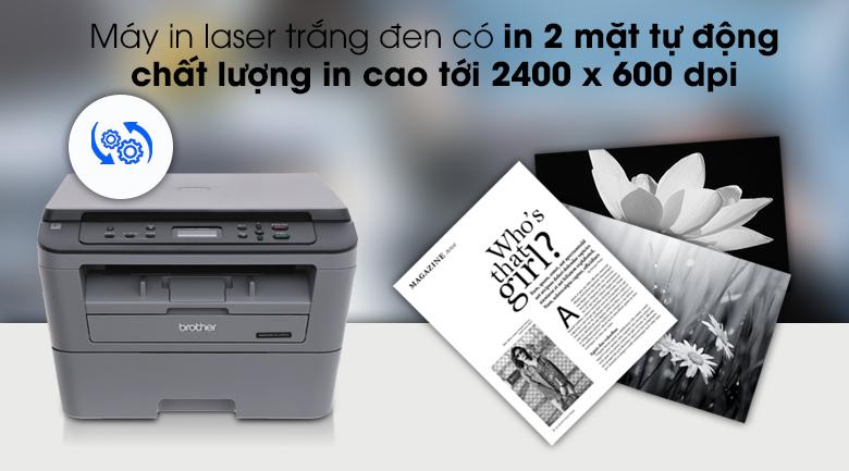 Máy in laser Brother DCP L2520D đa chức năng - Chất lượng in tốtMáy in laser Brother DCP L2520D đa chức năng - Chất lượng in tốt