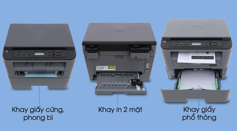 Nạp giấy - Máy in Laser đa năng Brother DCP-L2520D