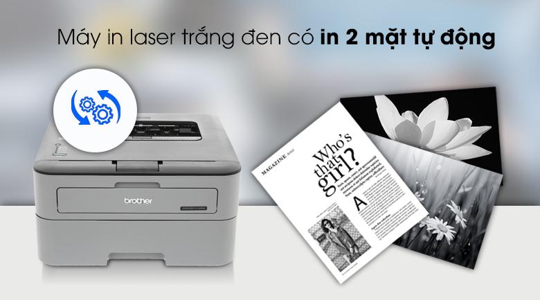 Máy in Laser Brother HL L2321D -  In 2 mặt tự động