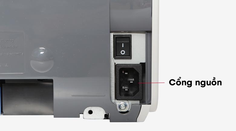 Máy in Laser Canon LBP2900 - Cắm dây nguồn