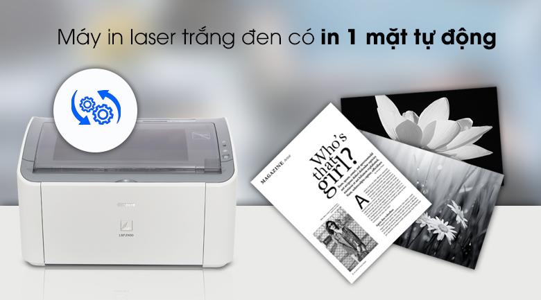 Máy in Laser Canon LBP2900 - In laser trắng đen