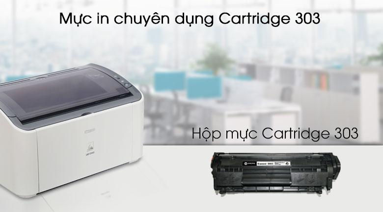 Máy in Laser Canon LBP2900 - Mực in chính hãng