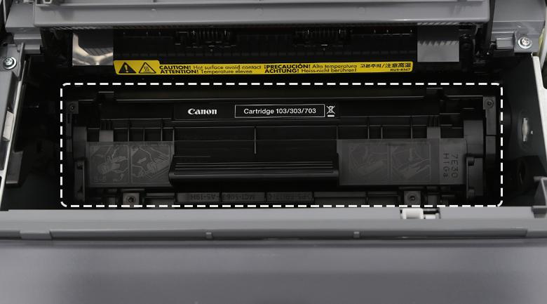 Máy in Laser Canon LBP2900 - Lắp hộp mực in Cartridge 303 chuyên dụng vào máy