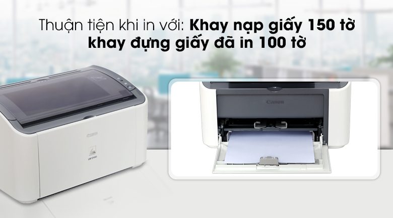 Máy in Laser Canon LBP2900 - Khay chứa giấy