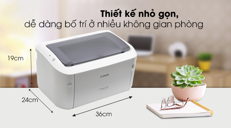 Máy in Laser Canon LBP 6030 - Thiết kế