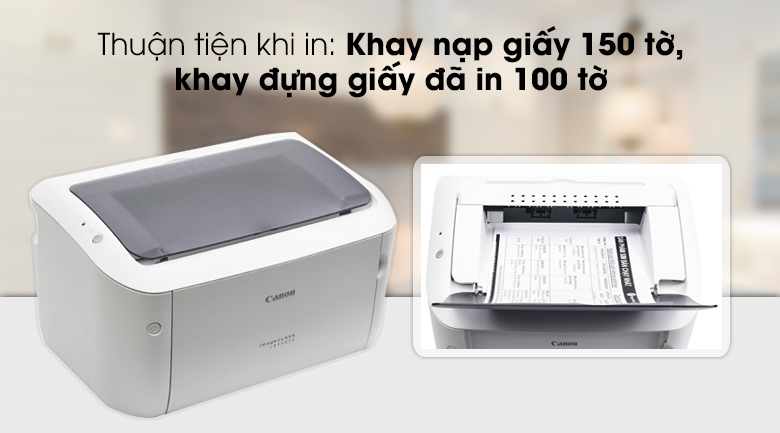 Máy in Laser Canon LBP 6030 - Khay chứa giấy
