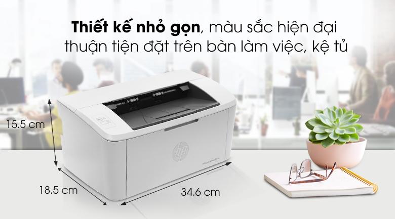 Máy in đa chức năng HP LaserJet Pro M15a (W2G50A) - Thiết kế
