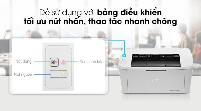 Máy in đa chức năng HP LaserJet Pro M15a (W2G50A) - Bảng điều khiển