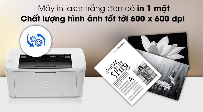 Máy in đa chức năng HP LaserJet Pro M15a (W2G50A) - Chất lượng in tốt