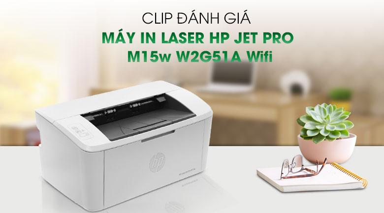 Máy in HP Jet Pro M15w wifi