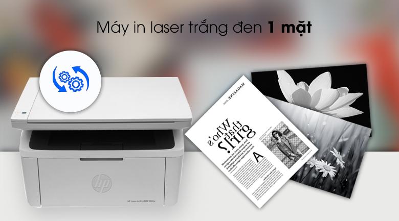 Máy in HP LaserJet Pro MFP M28a (W2G54A) - In 1 mặt