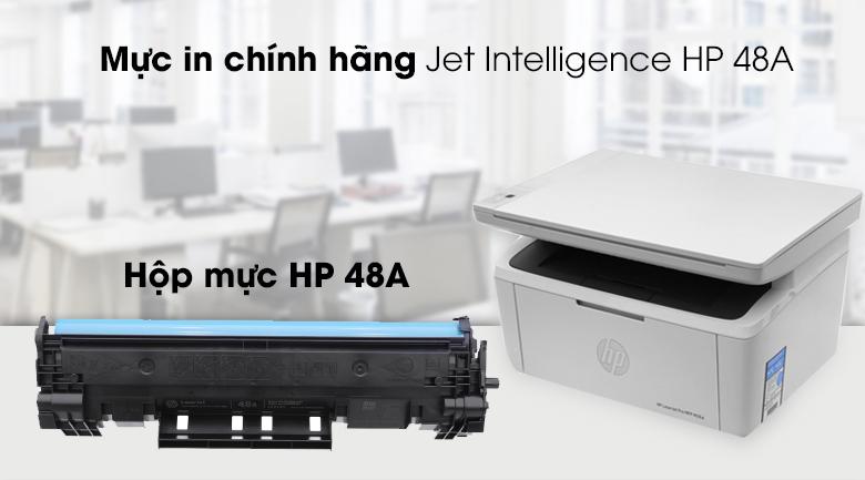 Máy in đa năng HP Lazer Jet Pro MFP M28a (W2G54A) - Mực in chính hãng
