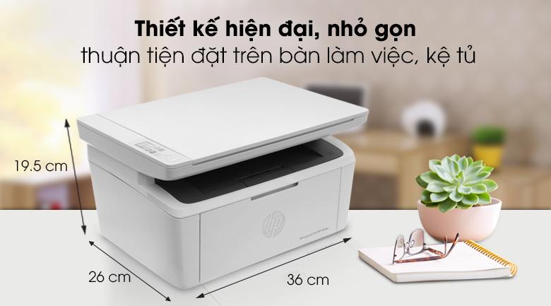 HP LaserJet Pro MFP M28w WI-FI (W2G55A) -Thiết kế