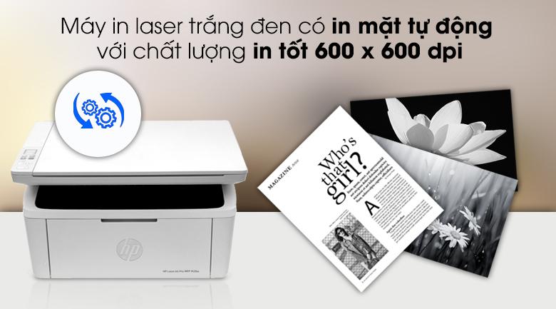 HP LaserJet Pro MFP M28w WI-FI (W2G55A) - Chất lượng in tốt