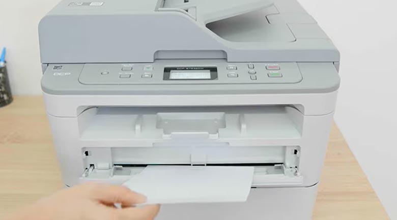 Máy in Laser đa năng trắng đen Brother DCP-B7535DW - Khay giấy thủ công