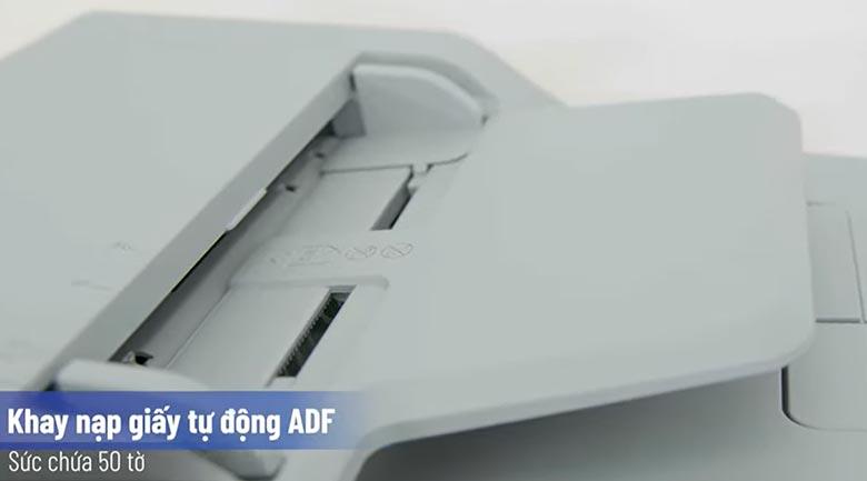 Máy in Laser đa năng trắng đen Brother DCP-B7535DW - Khay giấy tự động