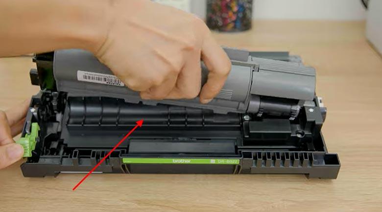 Máy in Laser đa năng trắng đen Brother DCP-B7535DW - Hộp mực