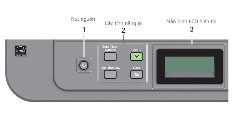 Máy in Laser đa năng Brother DCP-B7535DW wifi