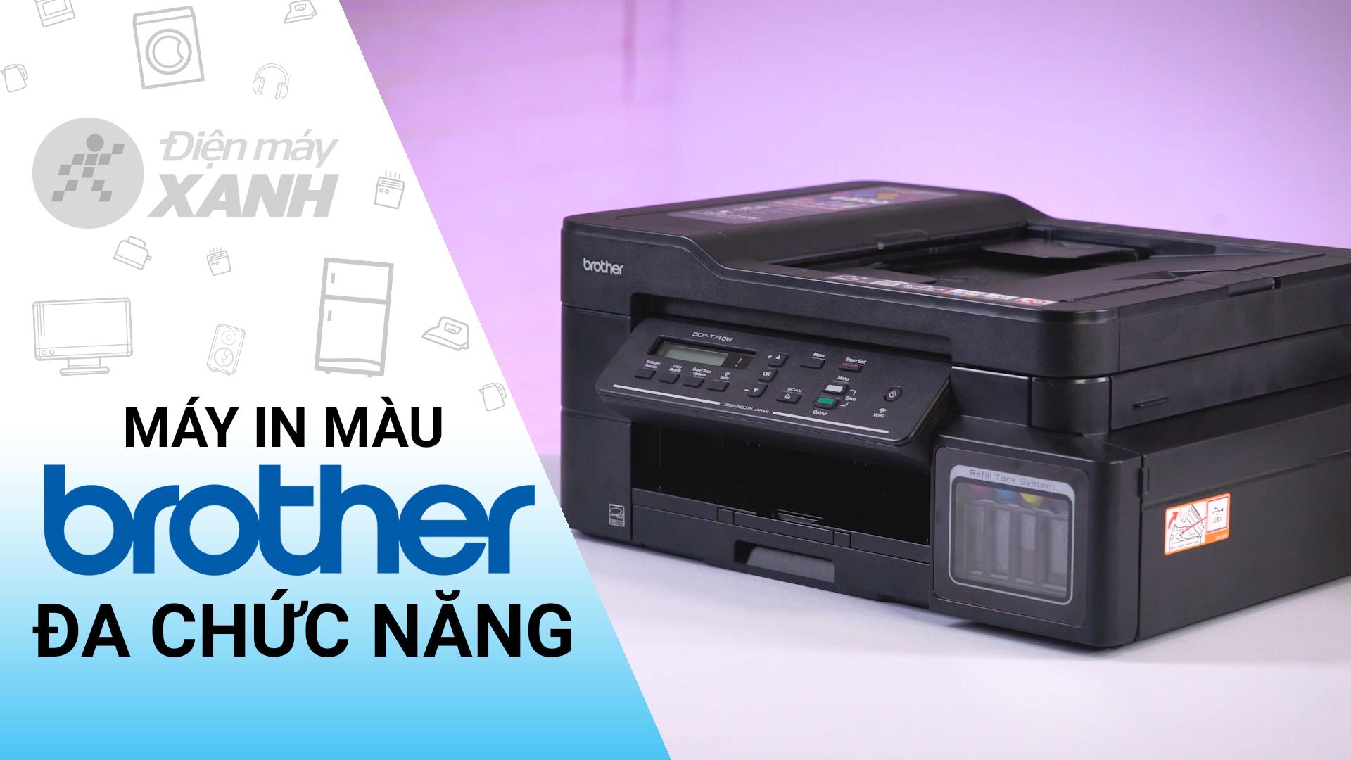 Máy In Phun Màu Brother Inkjet DCP-T710W Wifi