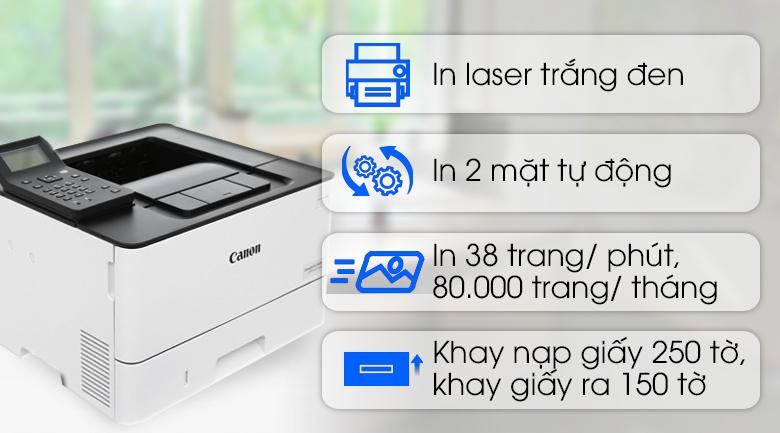 Máy in Laser Canon LBP214dw Wifi giá rẻ, có trả góp 06/2020