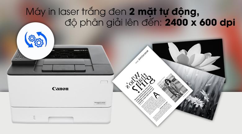 Máy in Laser Canon LBP214dw wifi - In 2 mặt