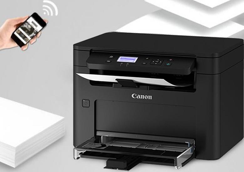 In ấn dễ dàng từ nhiều thiết bị - Máy in Laser Đa năng Canon MF113w Wifi