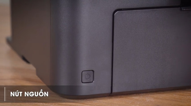 Nút nguồn - Máy in đa năng Canon Laser MF241d