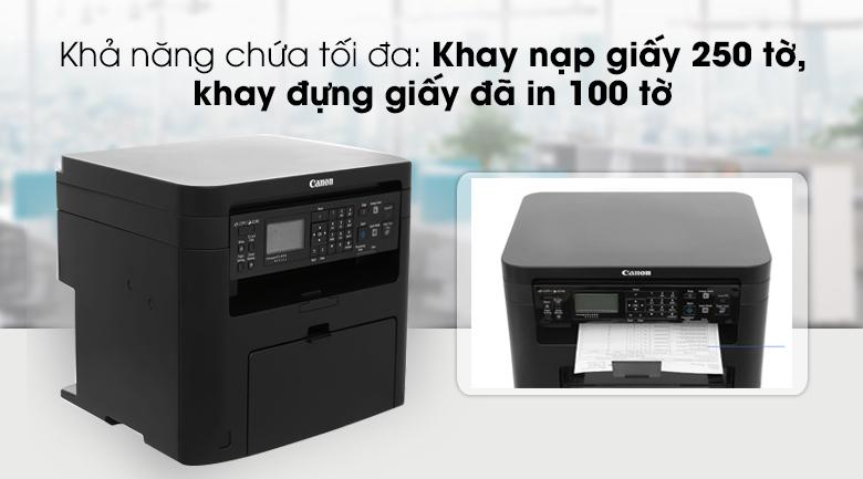 Máy in Laser Canon đa chức năng MF241d - Khay đựng giấy