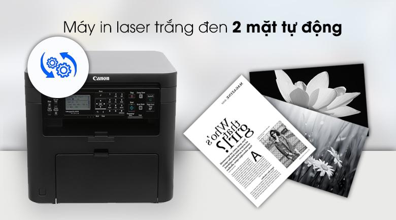 Máy in Laser Canon đa chức năng MF241d - In 2 mặt tự động