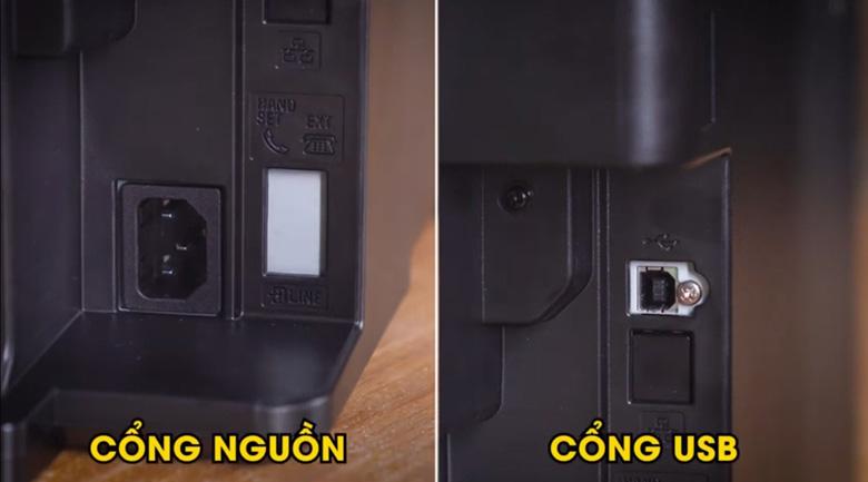 Kết nối USB - Máy in đa năng Canon Laser MF241d