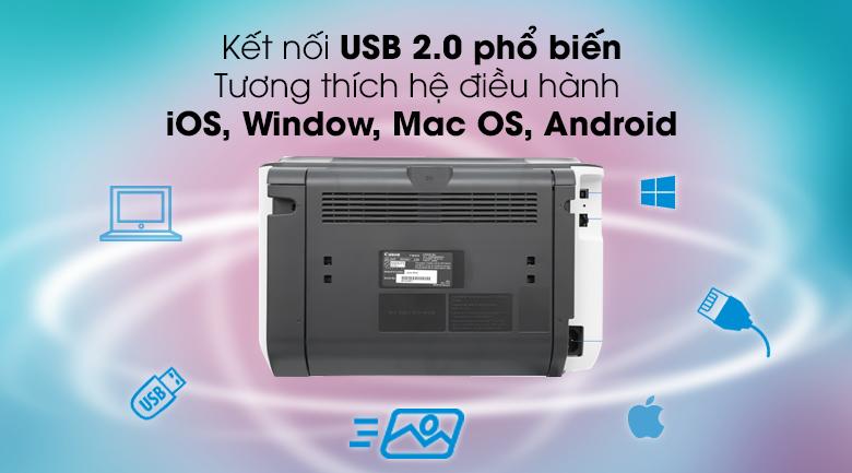 Máy in Lazer Canon LBP6230DN - Kết nối USB