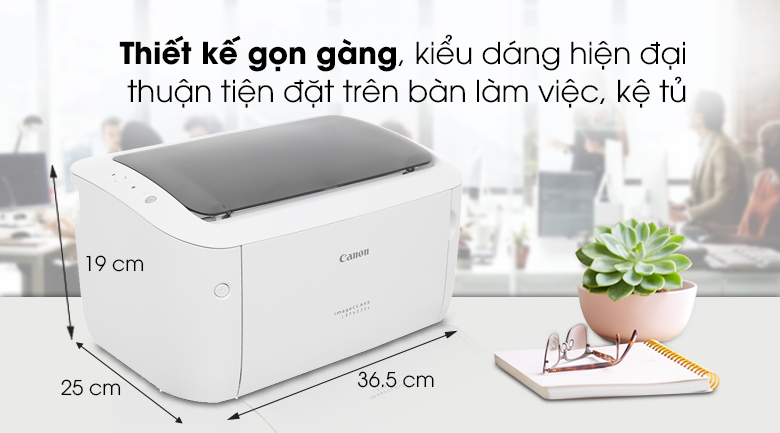 Máy in Laser Canon LBP 6030W - Thiết kế