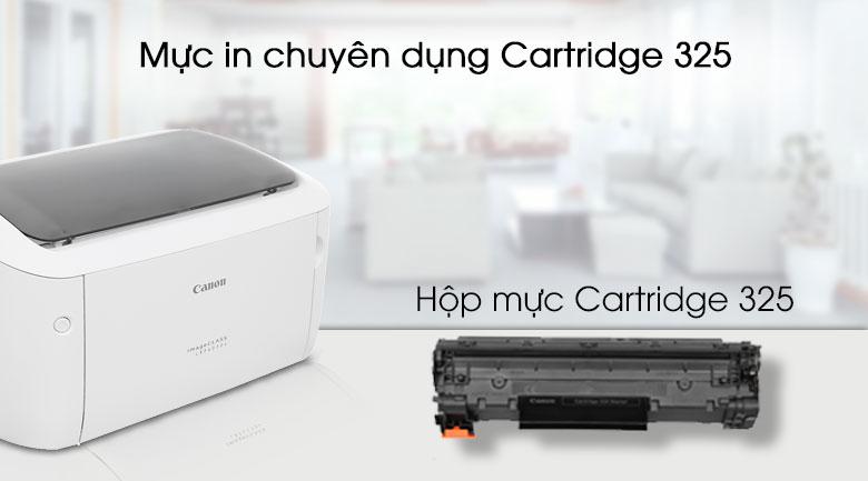 Máy in Laser Canon LBP 6030W Wifi - Mực in 325 chính hãng