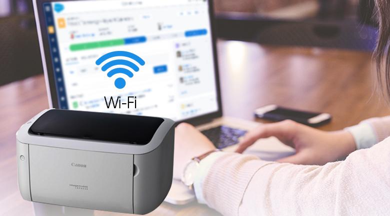 Máy in Laser Canon LBP 6030W - Kết nối Wi-Fi