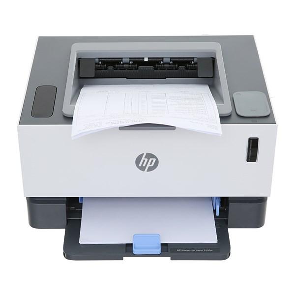 Máy In Laser Trắng Đen HP Neverstop Laser 1000w (4RY23A)