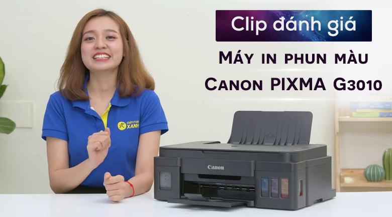 Máy In Phun Màu Canon PIXMA G3010 Wifi