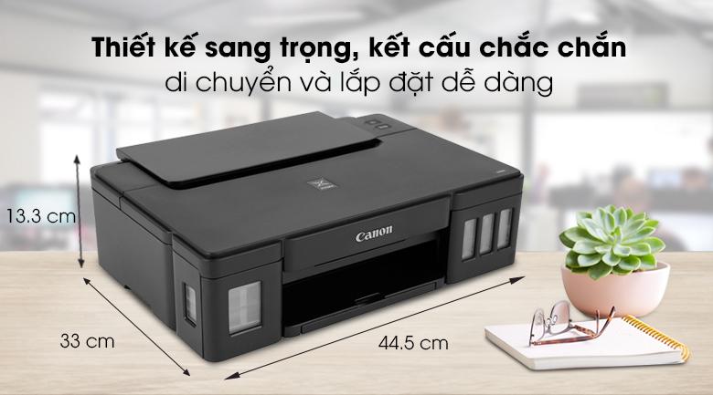 Máy in phun màu đơn năng Canon PIXMA G1010 - Thiết kế sang trọng