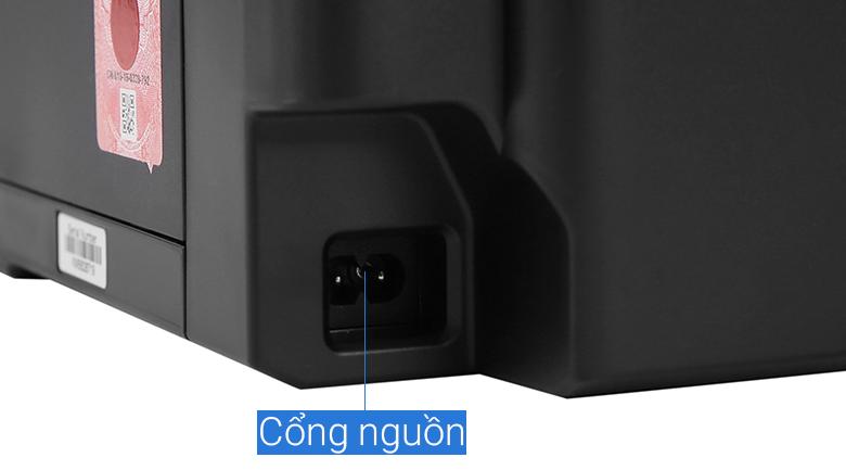Máy in phun màu đơn năng Canon PIXMA G1010 - Kết nối nguồn điện