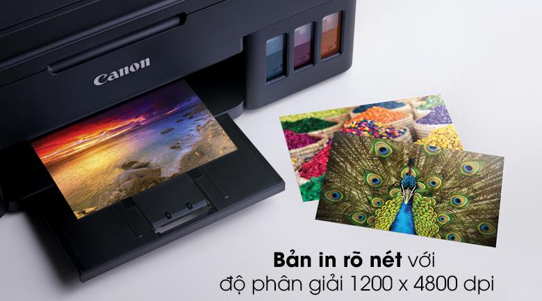 Máy in phun màu đơn năng Canon PIXMA G1010 - Chất lượng bản in tuyệt vời