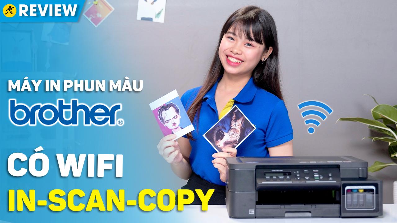 Máy In Phun Màu Brother DCP-T510W Wifi