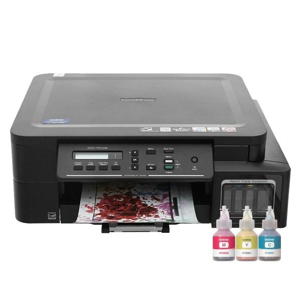 Máy in phun màu đa năng In Scan Copy Brother DCP-T510W Wifi Đang cập nhật