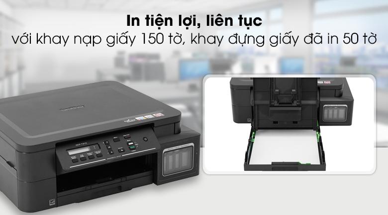 Máy in phun màu đa năng In Scan Copy Brother DCP - T310 - In liên tục