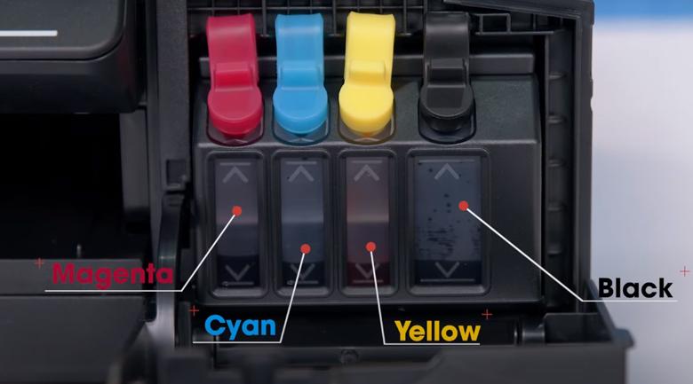 Máy in phun màu đa năng Brother DCP-T310 - 4 ống mực