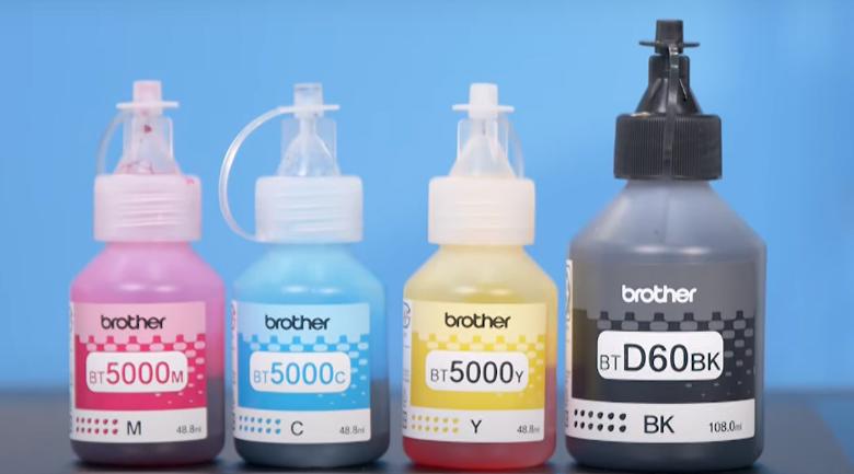Máy in phun màu đa năng Brother DCP-T310 - Bình mực