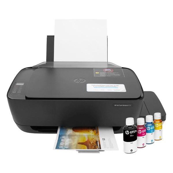 Máy in phun màu đa năng In Scan Copy HP Ink Tank 415 WiFi (Z4B53A)
