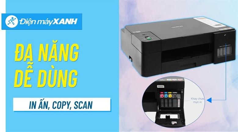 Máy in phun màu đa năng In-Scan-Copy Brother DCP-T220